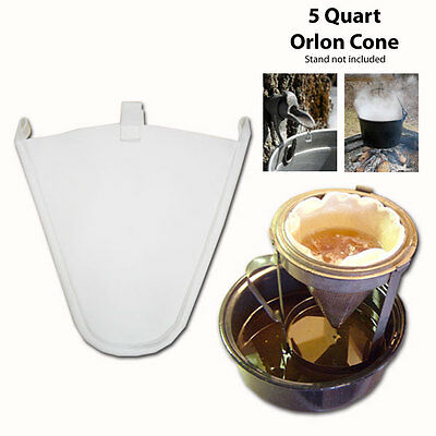 Maple Syrup Filter Cone - Synthetic - 5 Quart