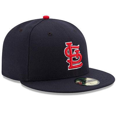 New Era 5950 St  Louis Cardinals Alternate 1 Navy Cap Mlb Baseball Fitted Saint