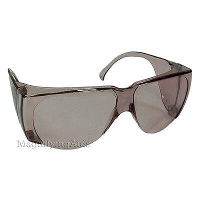 NoIR N88 UV Shield Glasses - 57% Light Plum, Tinted, Low Glare, UV (Noir Uv Shield Glasses)