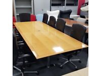 Polished Veneer Confrence Table