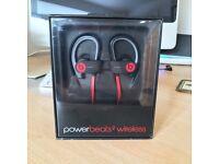 Power Beats 2 Wireless Headphones - Brand New/Unopened