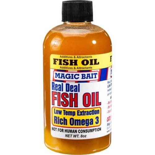Magic Bait Real Deal Fish Oil - Menhaden 8 Ounces