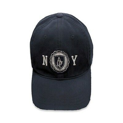 NEW ABERCROMBIE & FITCH for WOMEN * A&F Shine Baseball Cap / Hat * Navy One Size