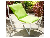 Hammock Relaxer Chair - Brand New in Box (3 x Green, 2 x Grey)