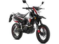 LEXMOTO ADRENALINE 125CC ENDURO SUPERMOTO LEARNER LEGAL MOTORBIKE MOTORCYCLE