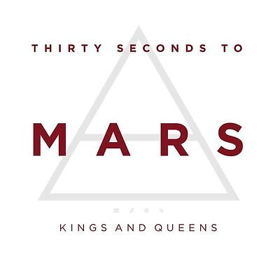 30 SECONDS TO MARS - KINGS AND QUEENS - CD SINGLE CARDSLEEVE 2009 - BRAND (30 Seconds To Mars Queens And Kings)
