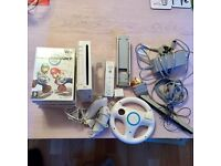 Wii complete bundle including mario kart