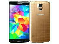 Samsung galaxy S5 ( gold )