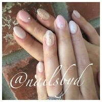 Professional gel nail services ! Same day appts available!