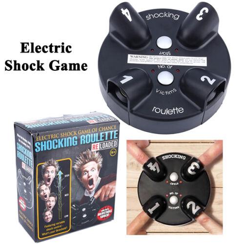 Electric Shock Shocking Roulette Shot Lightning Reaction Party Drinking Game Fun