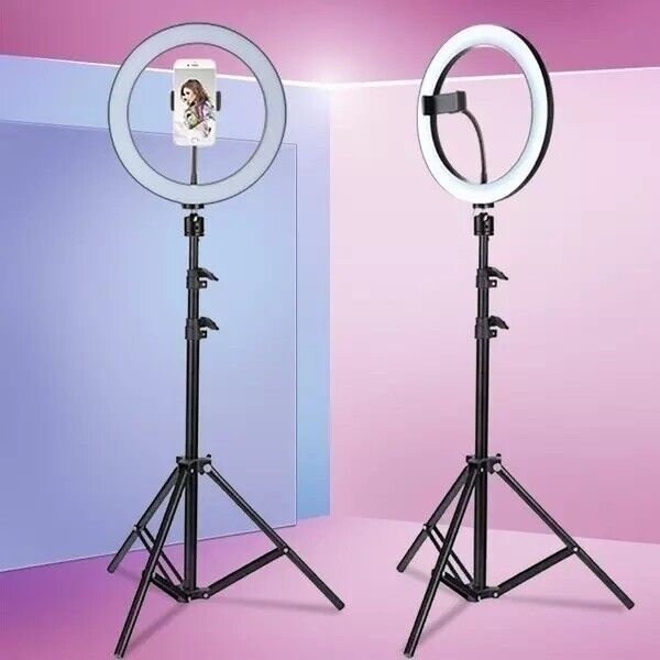 10 Inch ring light with Tripod Stand