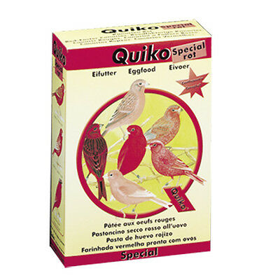 Pet Bird Diet Food - Improves Red Colour with Eggs for Canary - 1 Kg by Quiko