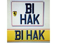 """Private Reg """"B1 HAK"""" Perfect for Horse Lover or Rugby Football Enthusiast"""