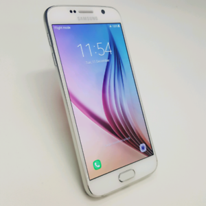 SAMSUNG S6 32GB WHITE COLOUR WITH TAX INVOICE