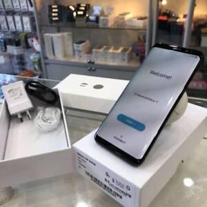 Galaxy s8 64gb black 2 years samsung warranty tax invoice
