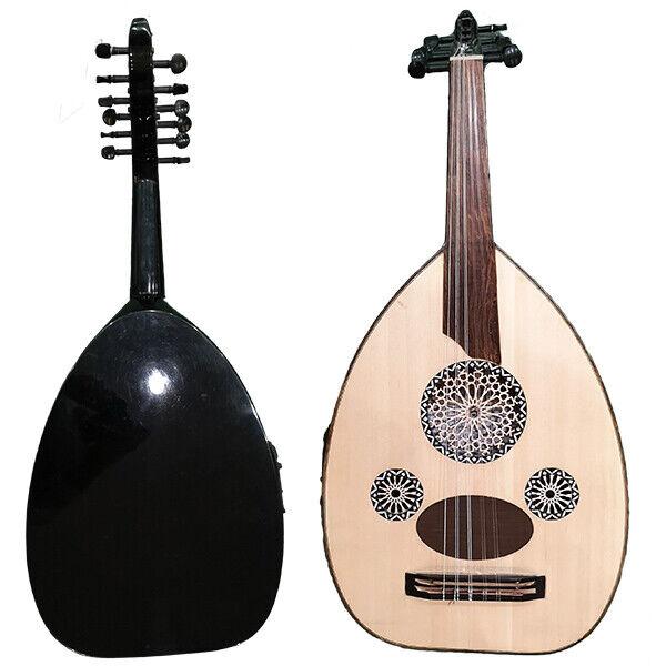 Electro acoustic Oud Alphecca 2