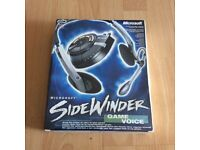 Microsoft side winder game voice