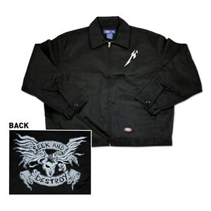 NEW Metallica Seek and Destroy Work Jacket, Size M