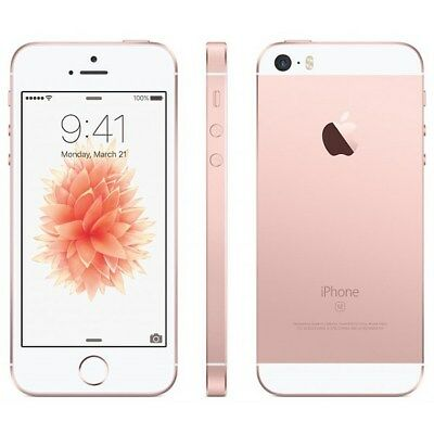 New Apple iPhone SE 128GB Rose Gold Verizon A1662 CDMA...