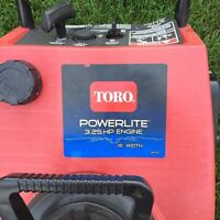 "16"" Toro Powerlite Snowblower"