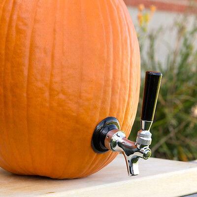 The Pumpkin Tap Kit - Halloween Draft Beer Drink Dispenser - Keg Drinking Set