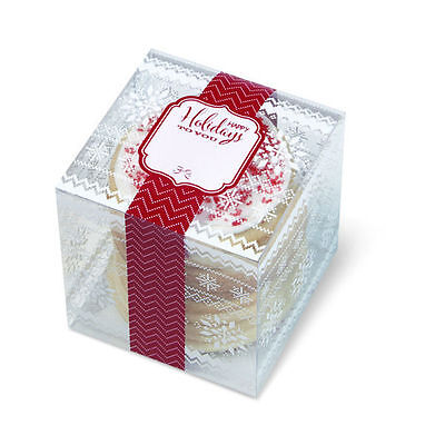 Wilton Treat Boxes (Holiday Christmas Treat Boxes 3 ct  from Wilton #2612 -)