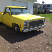 1977 chevy pickup short box