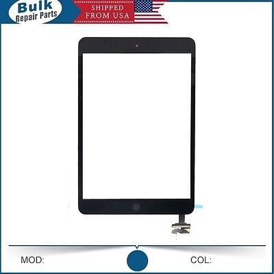 iPad Mini Screen Digitzer /w Original Flex & IC Chip + Smart Sensor - Black