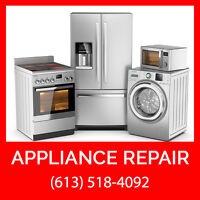 Appliance Repair Service - FREE Service Call + $25 OFF