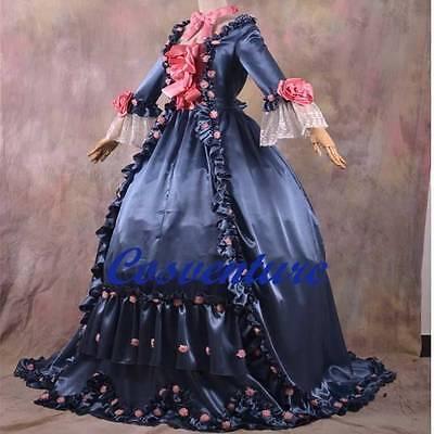 European Rennaisance Medievil Court Dress Ball Gown Costume Period Theatre