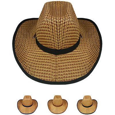 US SELLER COWBOY HAT Shapeable HAT Cap BEACH SAFARI Rodeo Cap MEN WOMEN