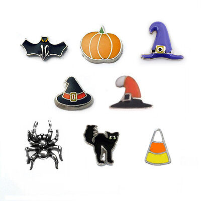 HALLOWEEN FLOATING CHARMS FITS ORIGAMI OWL LOCKETS - Origami Owl Halloween Locket