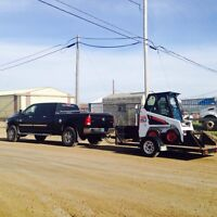Small to large bobcats for rent delivered to your site