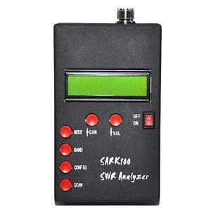 Mini ANT SWR Antenna Analyzer Meter For SARK100 Ham Radio Hobbists1-60MHz