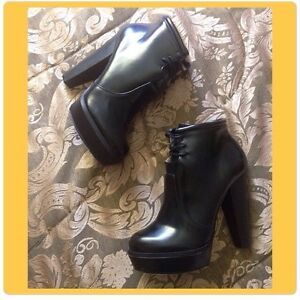 Forever 21 Black Heel Booties