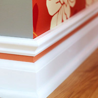 Richards baseboards and trim