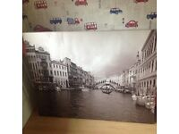 Ikea Venice large canvas