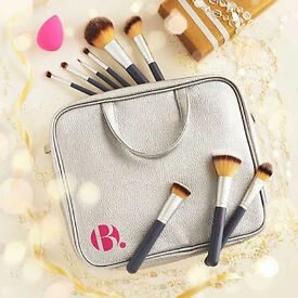 B. Complete makeup brush set collection. Very high quality RRP £70. Unwanted gift