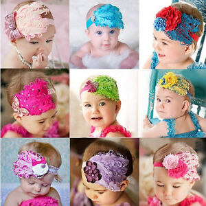 Christmas-Infant-Baby-Toddler-Feather-Flower-Diamond-Headband-Headwear-Band