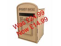 Post Box wooden