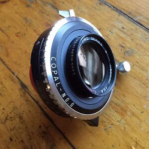 Calumet 150mm f/5.6 Caltar Pro Series Large Format Lens 4x5
