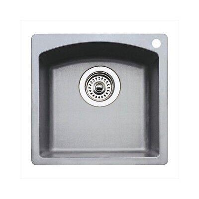 Blanco 440203 Blanco Diamond Bar Sink Silgranit II - Metallic Gray