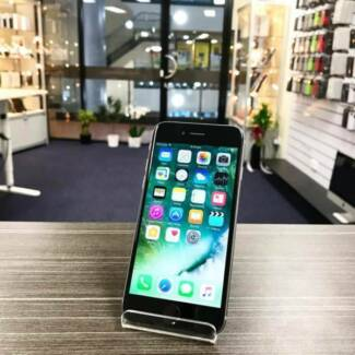 AS NEW IPHONE 6 128GB SPACE GREY UNLOCKED WARRANTY INVOICE