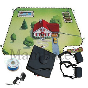 2013 Underground Waterproof 2 Shock Collar Electric Dog Fence Fencing System New