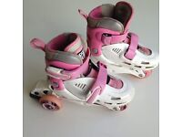 Inline Adjustable Tri Skates