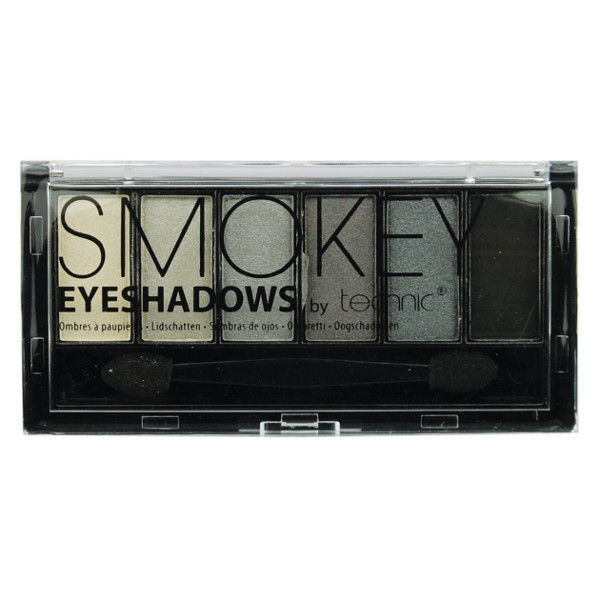 Technic 6pc Smokey Eyeshadows Palette Double ended applicator