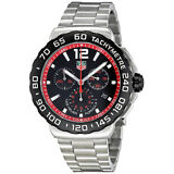 Tag Heuer Formula 1 Black Dial Chronograph Mens Watch CAU1116.BA0858