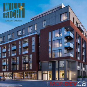 New Condo Apartments (3bdrm) for rent-Lachine Canal, Griffintown