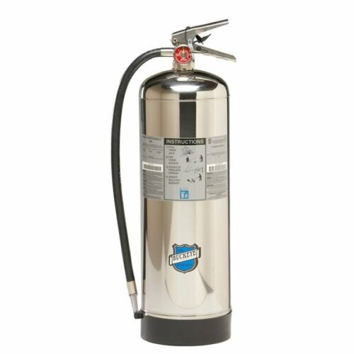 2020 Buckeye Water Fire Extinguisher With Schrader Valve (Empty)