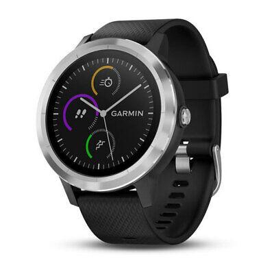 Garmin Vivoactive 3 Schwarz/Silber GPS-Smartwatch Sportuhr Aktivitätstracker